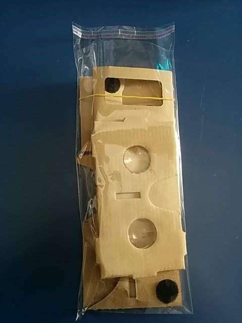 Lentes realidad virtual Google Cardboard 3D - 3