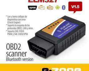 Escaner OBD2 ELM 327