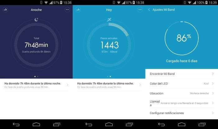 Xiaomi Mi band Smartband - 3