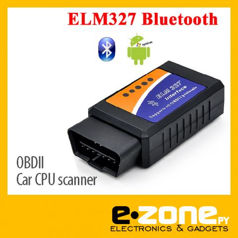 Scanner OBD2 (ELM 327) BLUETOOTH diagnostico automotriz - PC, Android