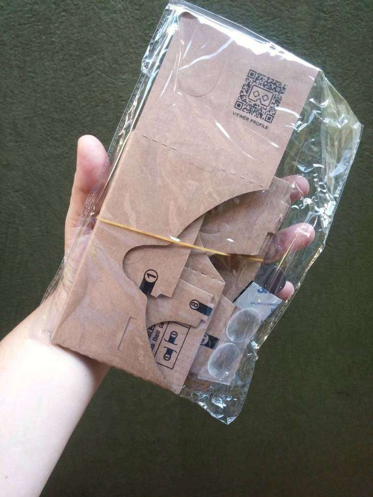 Lentes realidad virtual Google Cardboard 3D - 5