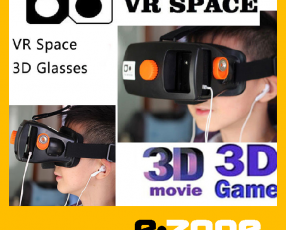 Space VR Lente Realidad Virtual 3D