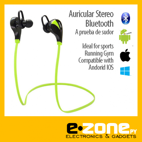 Auriculares Stereo a bluetooth