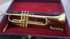 Trompeta exelente estado y boquilla Benge 7C y estuche de trompeta