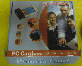 Adaptador PCMCIA a serial RS232