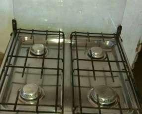 Cocina Dako 4 hornallas