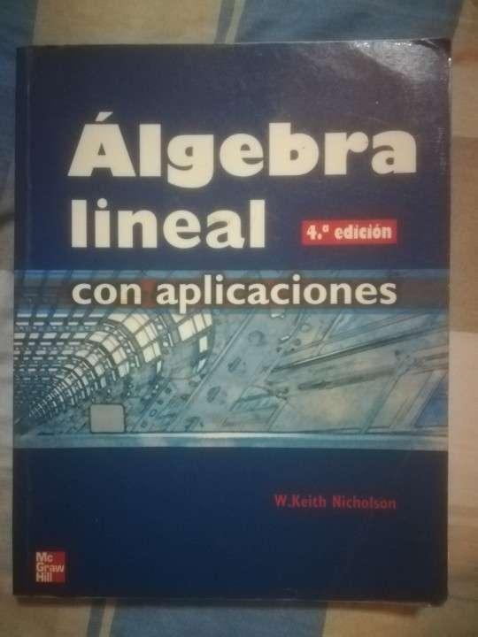 Algebra Lineal con Aplicaciones - 1