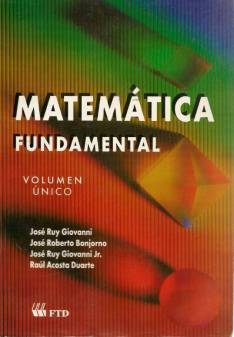 Libro Matemática Fundamental Vol. Unico