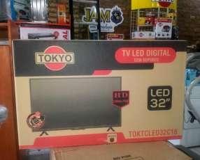 Tv led Tokyo 32 pulgadas con garantía escrita