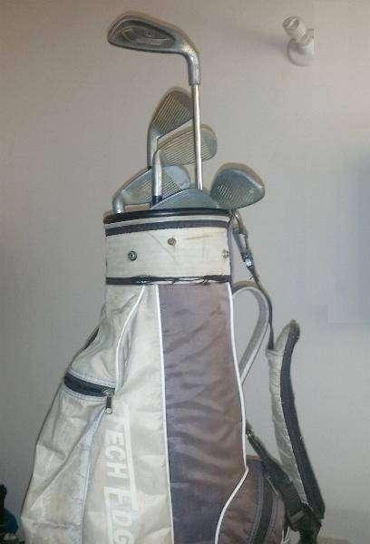 Palos de golf Junior y bolsa