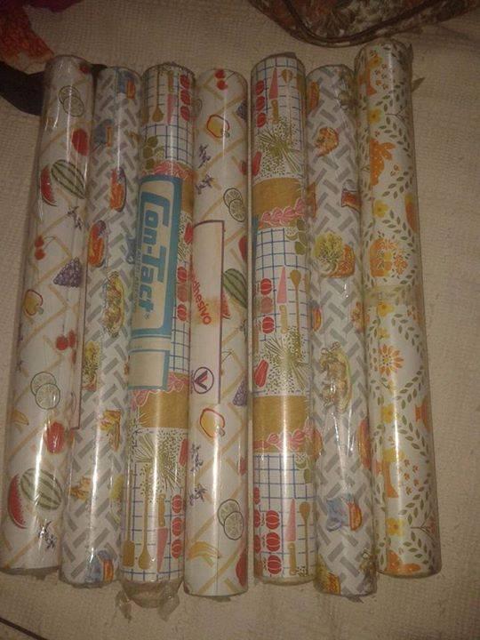 Papel tapiz para decorar paredes y muebles clarissa - Papel para paredes de cocina ...