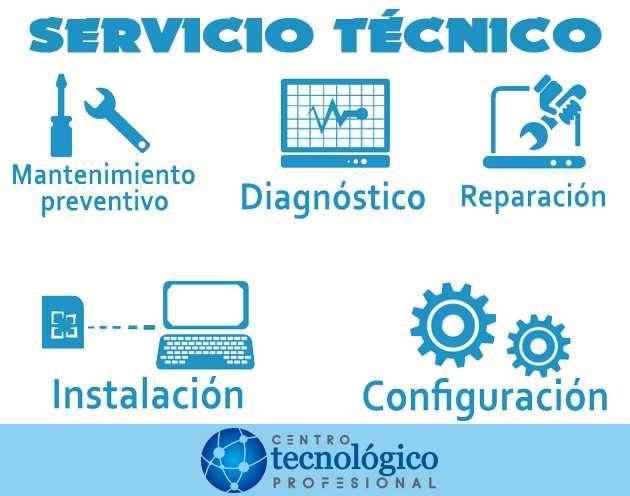 Reparación y mantención equipos PC, Notebook, Netbook, Ultrabook, y Redes - 0