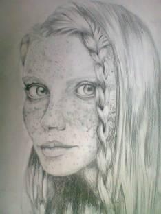 Retratos y otros dibujos hechos a mano