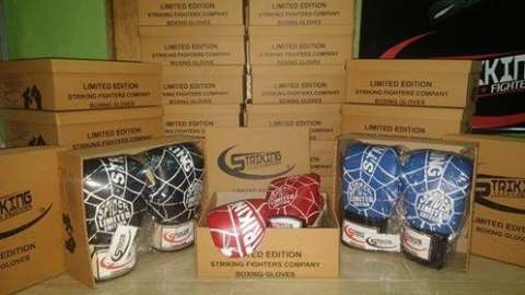 Guantes de Box Striking Fighters SPIDER Limited Edition 10 y 12oz