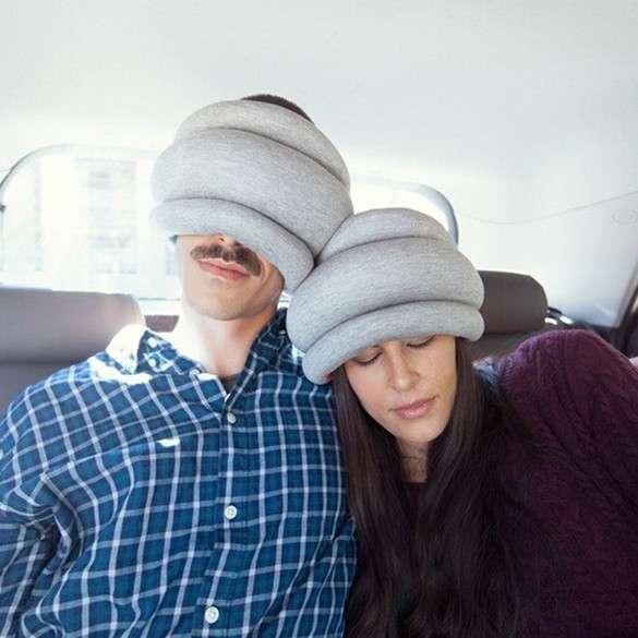 Almohada para viajes y siestas - 3