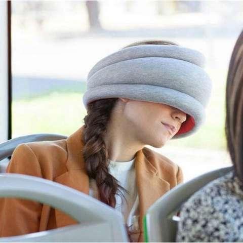 Almohada para viajes y siestas