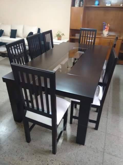 Juego de comedores en linea moderna muebles for Comedores en linea