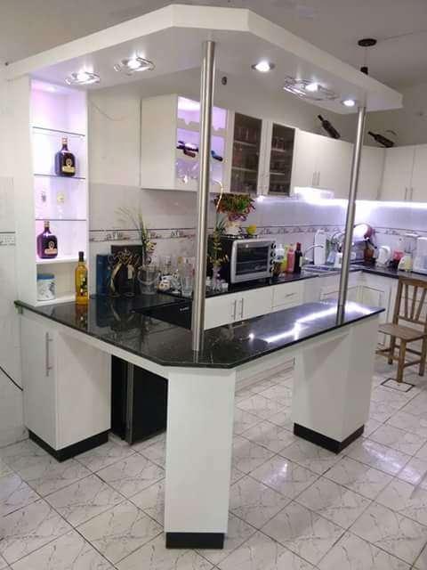 Mobiliarios de cocinas sobre medidas excelente calidad y terminación fina.