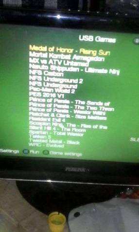 Disco duro HDD externo con 100 juegos de PS2