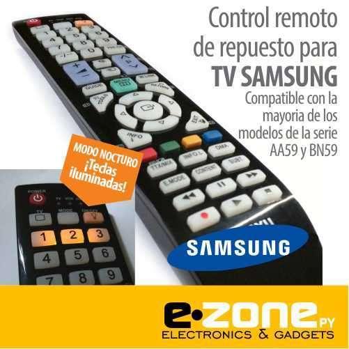 Control remoto de repuesto para TV Samsung - 0