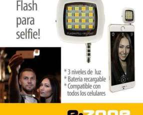 Flash led para smartphone