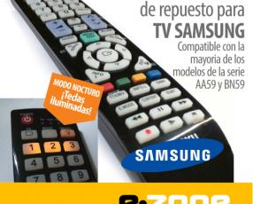 Control remoto de repuesto para TV Samsung