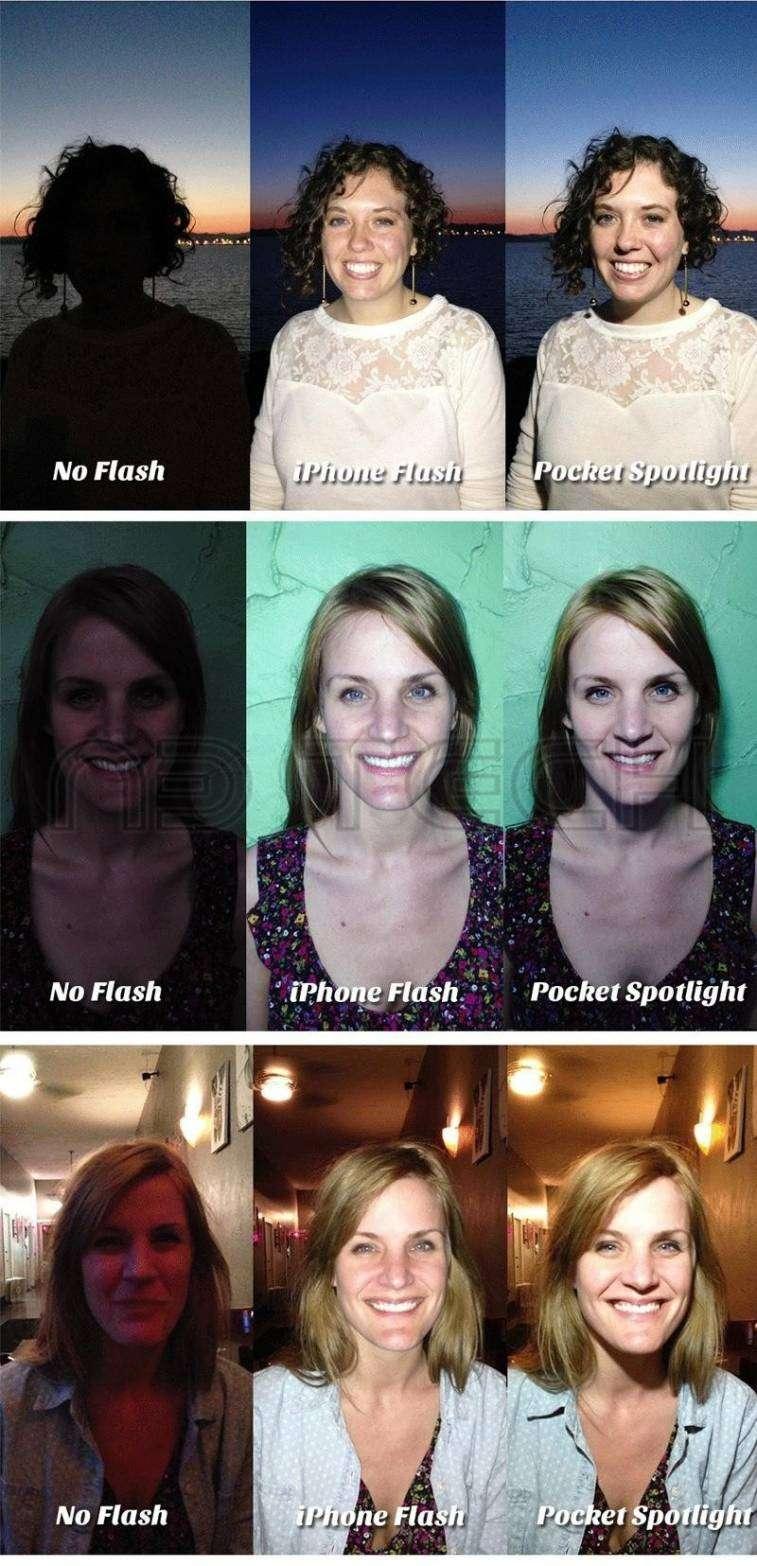 Flash led para smatphone - 3