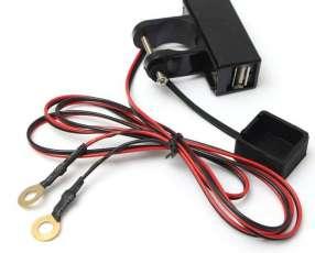 Cargador de celular USB para Motos