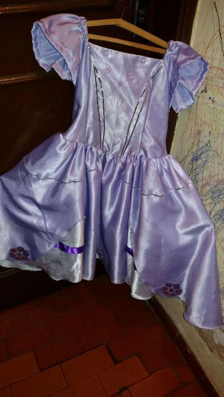 Vestido de Princesa Sofía