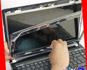 Cambio de pantallas de notebooks y netbooks