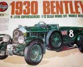 Maqueta 1/12 De Bentley 1930