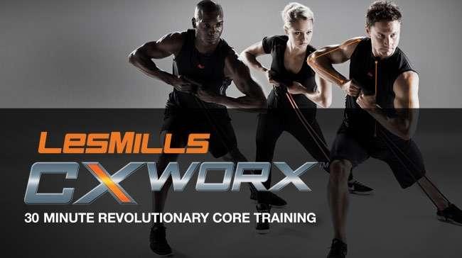 Banda elastica para entrenamiento de CXWorX y Video de Rutina Body System CX - 1