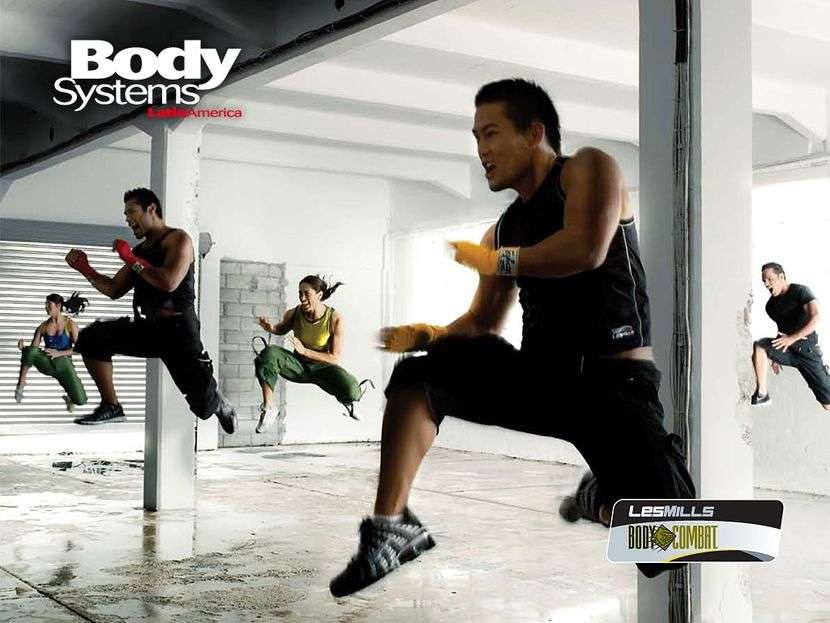 Rutinas de Body Pump-Attack combat step porwer jump - 1