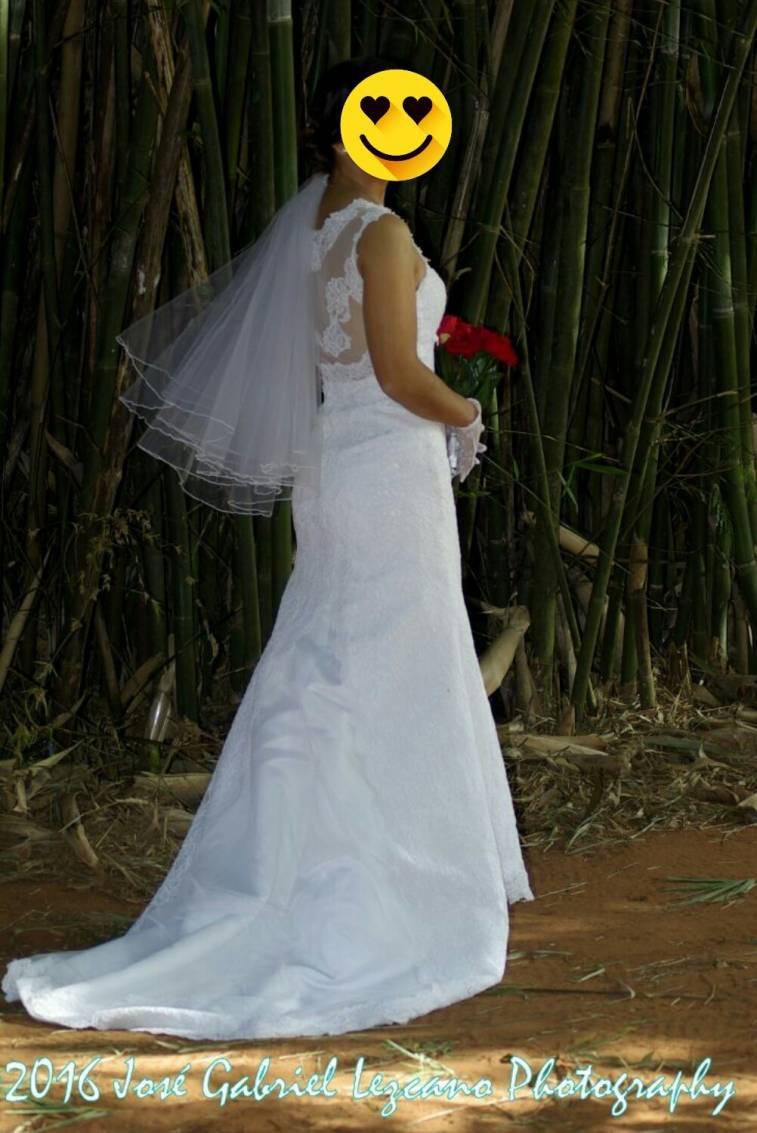 Vestido de Novia corte sirena y encaje - Lizrolon- Hendyla.com
