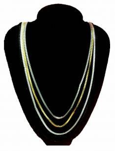 Collar cadena multicolor