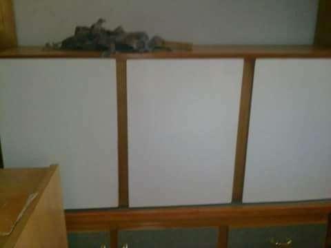 Alacena de cocina con tres puertas - 1