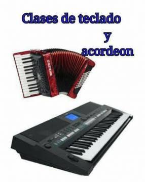 Clases personalizadas de teclado y acordeón