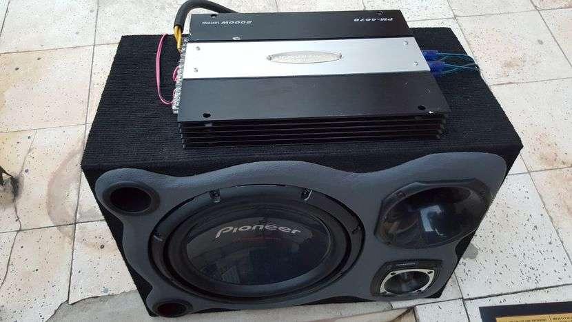 Caja de sonido con amplificador Pioneer - 2