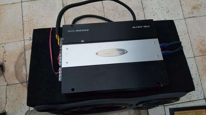 Caja de sonido con amplificador Pioneer - 0