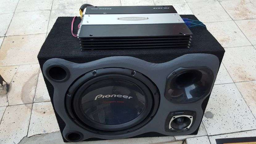 Caja de sonido con amplificador Pioneer - 1