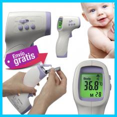 Termómetro infrarrojo digital para niños y adultos