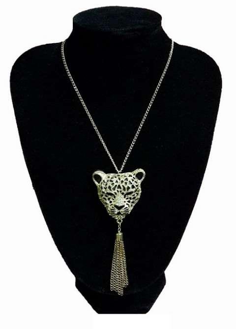 Collar Pantera Dorado