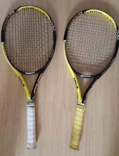 Raquetas Wilson Pro Open y Raquetero