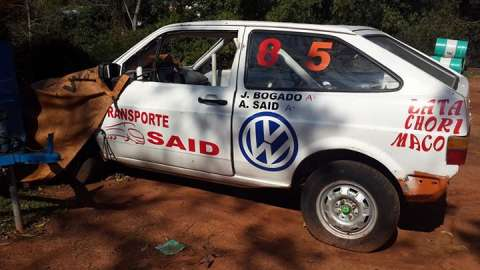 Volkswagen Gol cuadrado de carrera