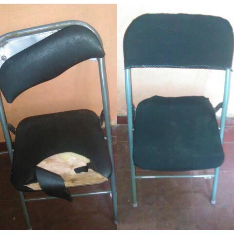Forros de sillas stella ruiz for Muebles de oficina quilmes andres baranda
