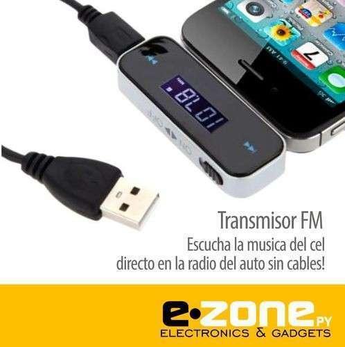 Transmisor FM música del celular a tu radio sin cables - 0