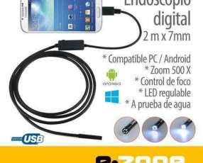 Endoscopio digital mini cámara USB para celular