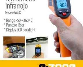Termómetro Infrarrojo digital -50~360°