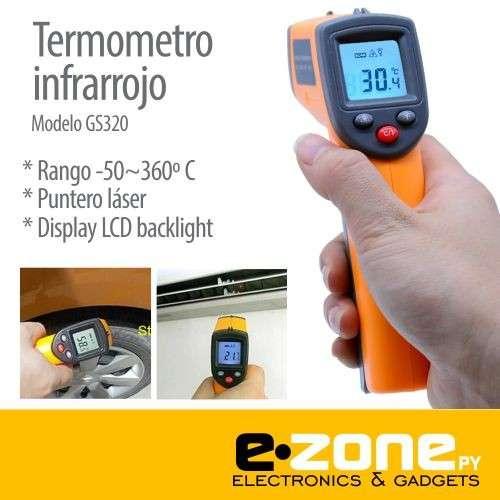 Termómetro Infrarrojo digital -50~360 grados - 0
