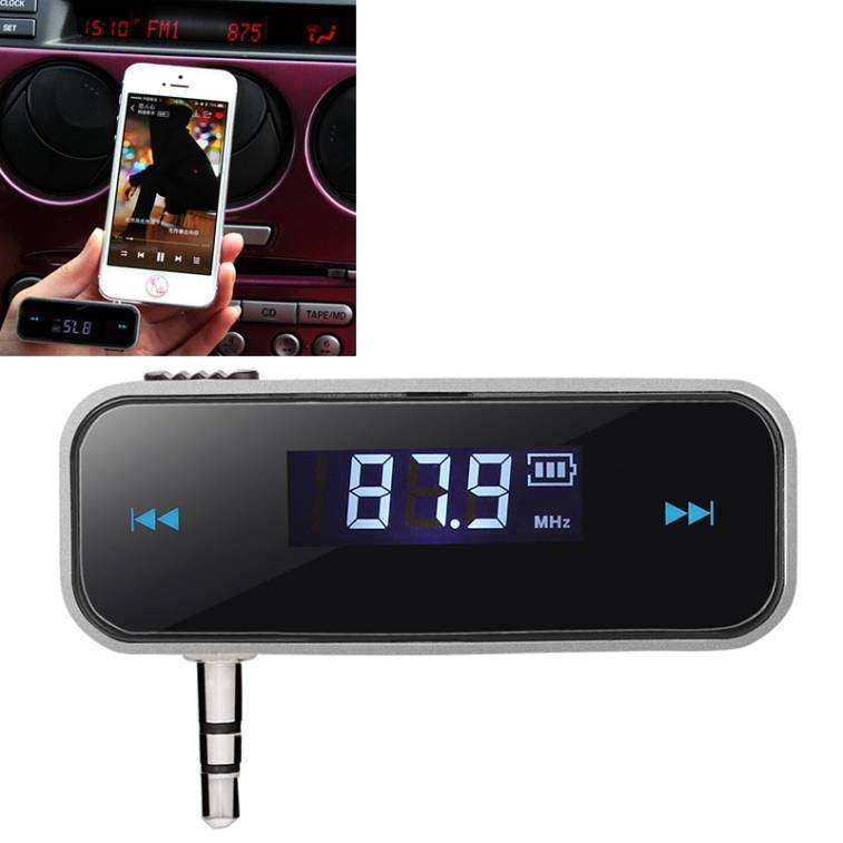 Transmisor FM música del celular a tu radio sin cables - 4
